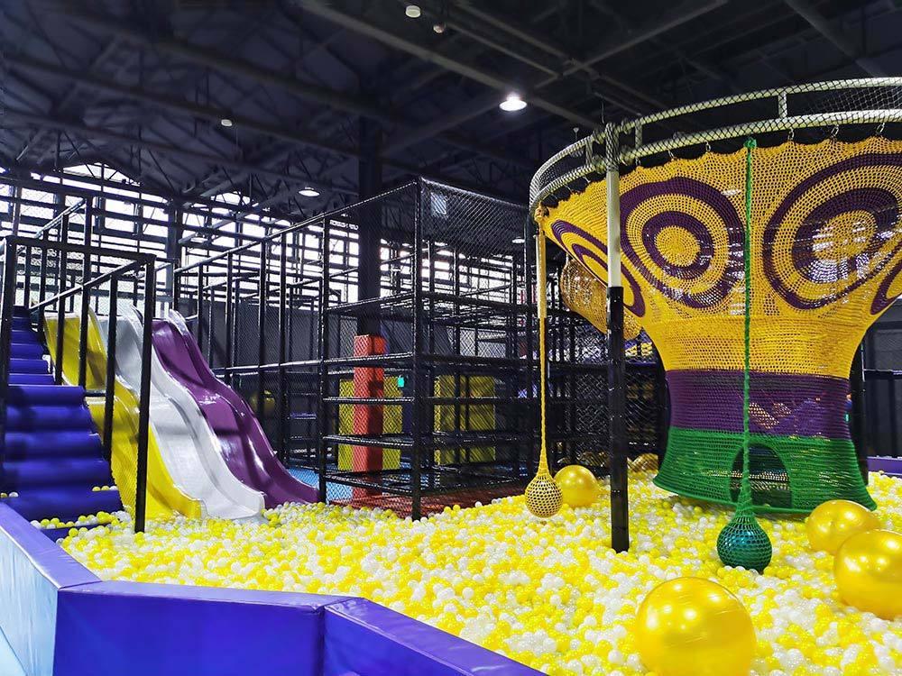 Huzhou Indoor Amusement Park Rainbow Net