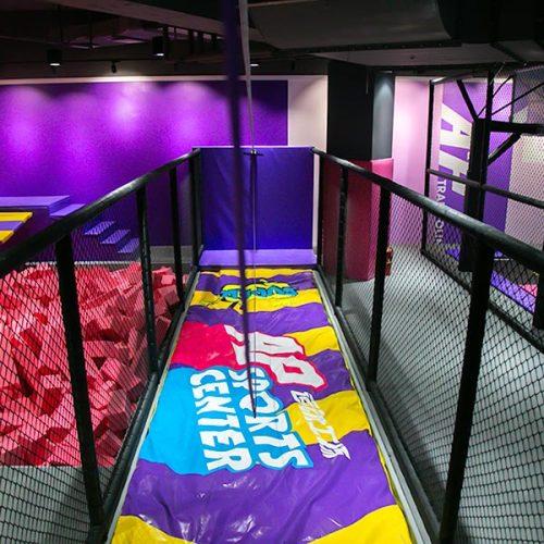Indoor Zipline -Adventure Amusement Park Attraction