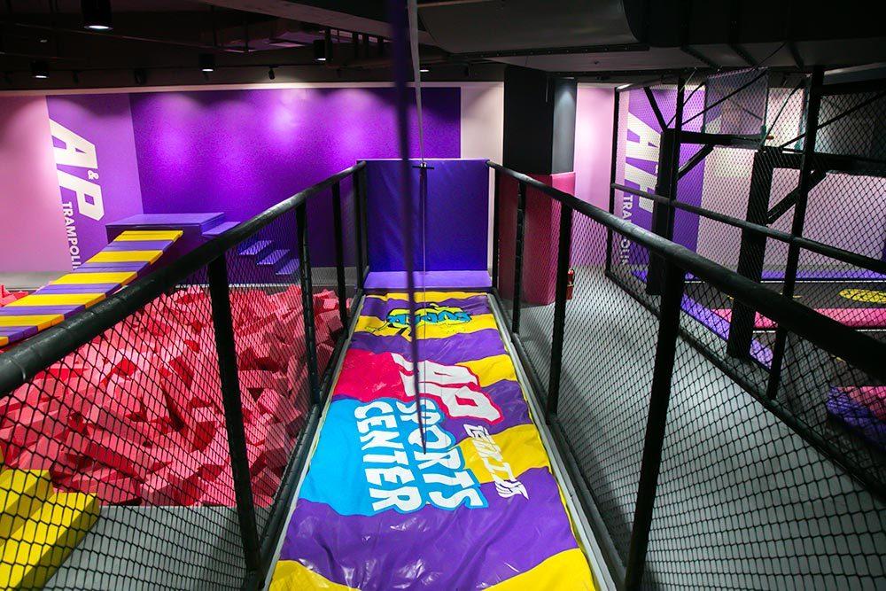 Wenzhou Pokiddo Trampoline Park Indoor Zipline
