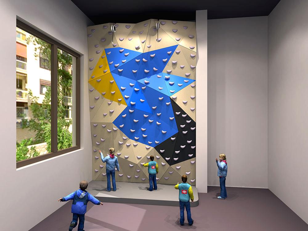 Boulder Climbing Wall Design
