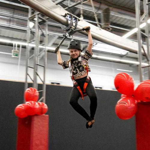 Sky Rider - Indoor Adventure Park Attraction Roller Glider