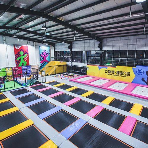 Free Jump Zone - Basic Trampoline Park Attraction