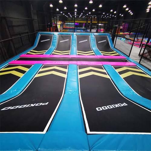 Dodgeball Zone/Court - Indoor Trampoline Park Attraction
