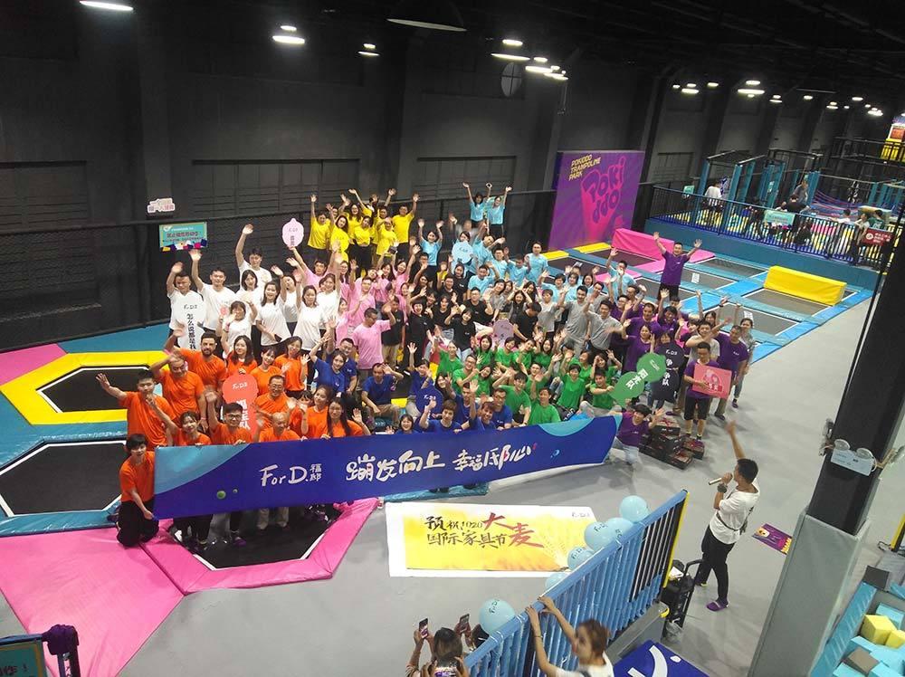 Hangzhou Pokiddo Trampoline Park Team-building Event