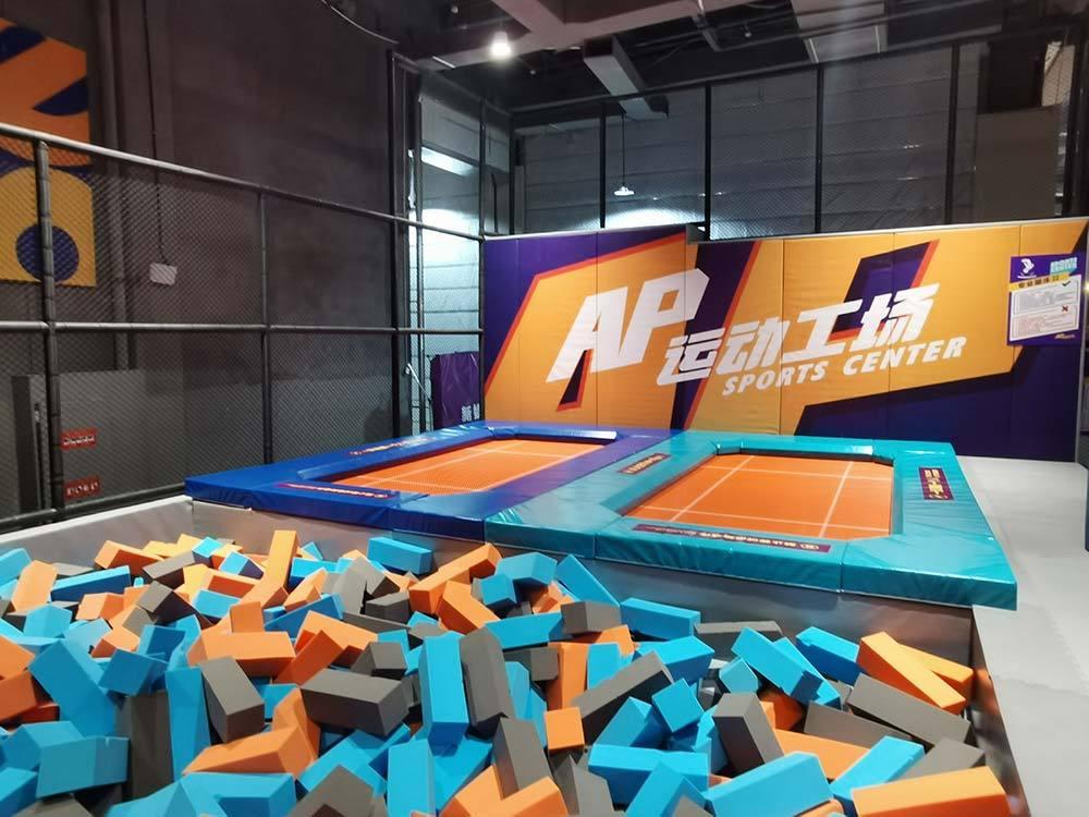 High Performance Trampoline in Quanzhou AP Sports Center