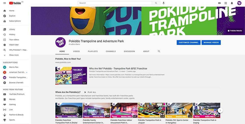 Pokiddo Indoor Trampoline and Adventure Park Youtube