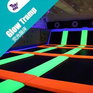 Fluorescent Glow Trampoline - Make Trampoline Park Glow
