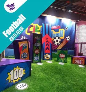 Interactive Soccer - Trampoline Park/FEC Attraction