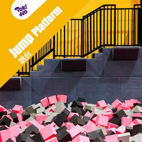Jump Platform/Tower - Trampoline Park Foam Pit Attraction