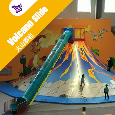 Volcano Slide/Climbing Volcano - Indoor Playground Attraction