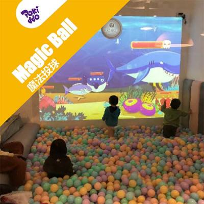 Projection Interactive Ball Pool - Indoor Playgrounds Attraction