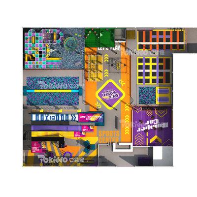 Pokiddo Sports Family Entertainment Center Design