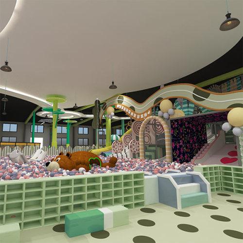 6000m2 Pokiddo FEC Design Proposal for Hebei Project