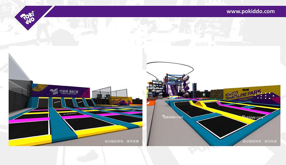 2000m2 Indoor Trampoline and Adventure Park Design(5)