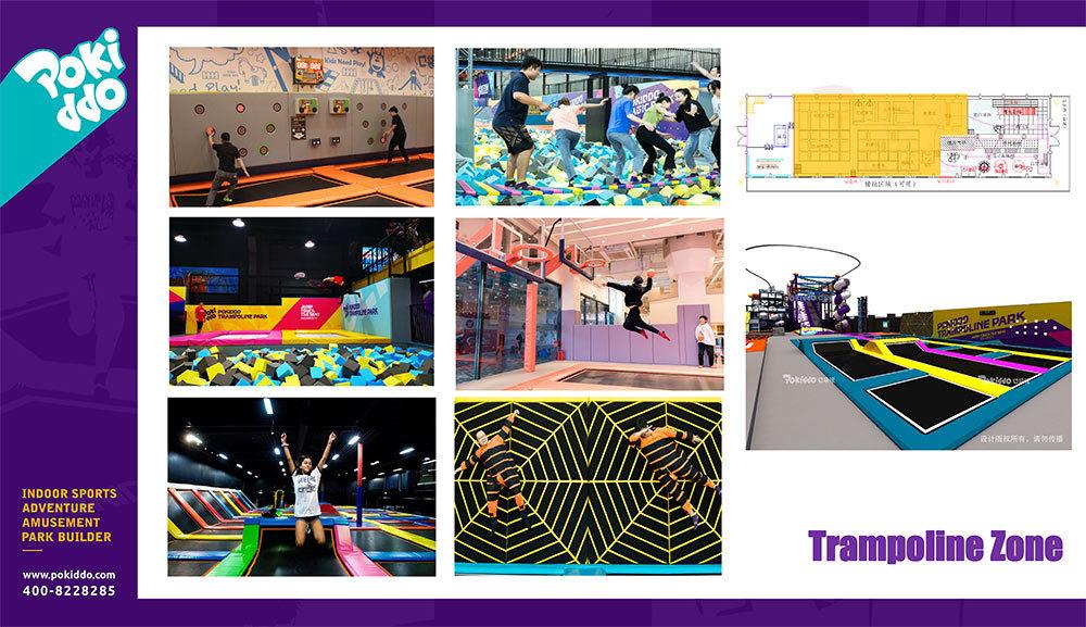 2000m2 Indoor Trampoline and Adventure Park Design(7)
