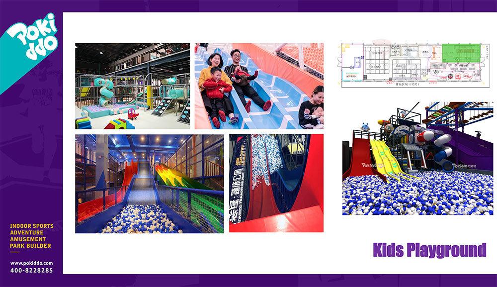 2000m2 Indoor Trampoline and Adventure Park Design(8)