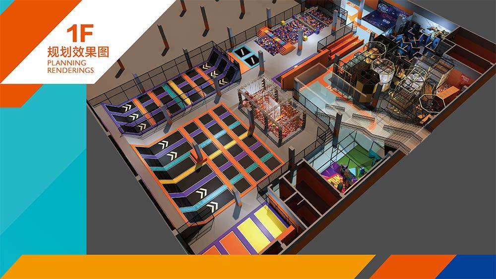 Tenglong Sports Center Indoor Trampoline and Adventure Park Design Proposal (10)