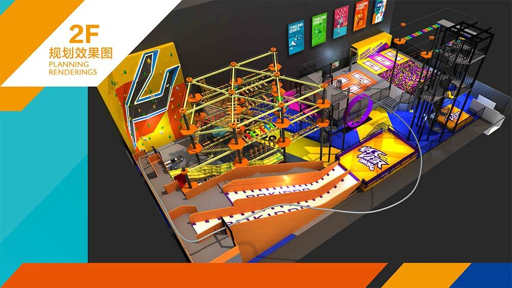 Tenglong Sports Center Indoor Trampoline and Adventure Park Design Proposal (18)