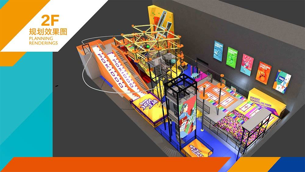 Tenglong Sports Center Indoor Trampoline and Adventure Park Design Proposal (19)