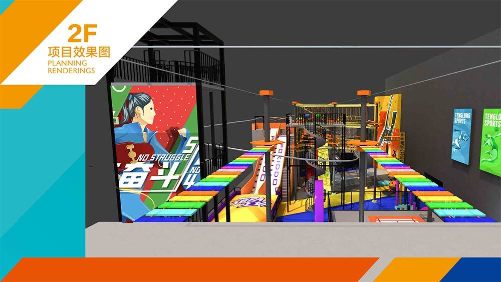 Tenglong Sports Center Indoor Trampoline and Adventure Park Design Proposal (20)