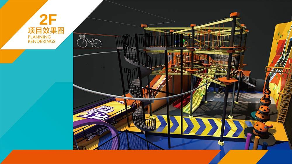 Tenglong Sports Center Indoor Trampoline and Adventure Park Design Proposal (22)