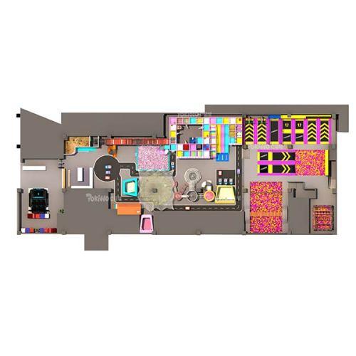 Indoor Playground and Trampoline Park Equipment