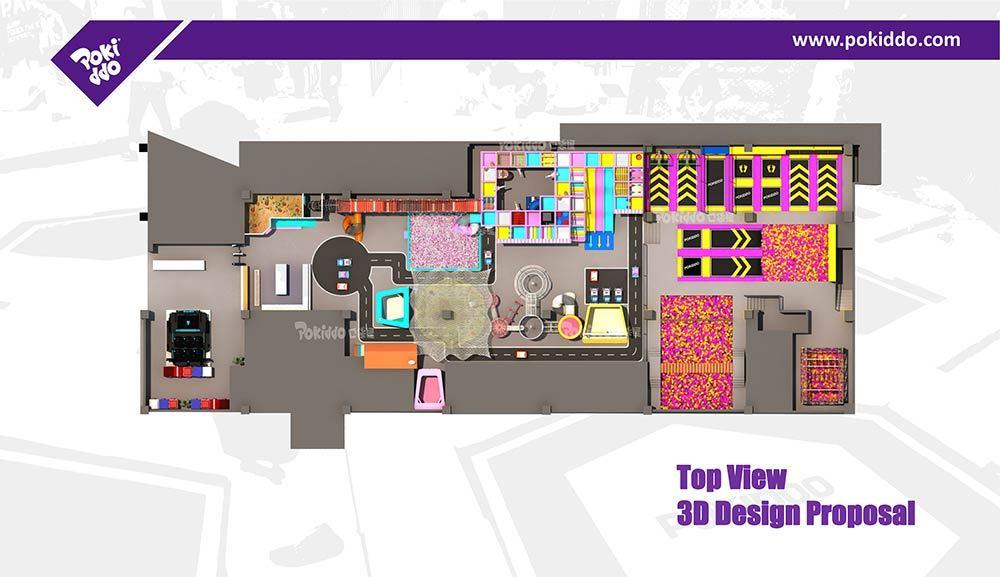 Nantong Indoor Playground and Trampoline Park Design (3)