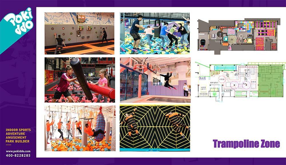Nantong Indoor Playground and Trampoline Park Design (4)