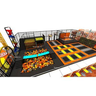 Pokiddo Trampoline Park Equipment Design Manufacture