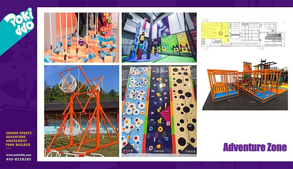 Shangrao Pokiddo Trampoline Park Equipment Design(10)