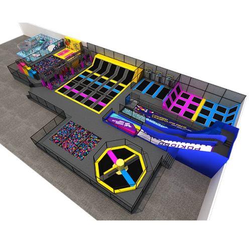 Pokiddo Indoor Trampoline Park Equipment Design