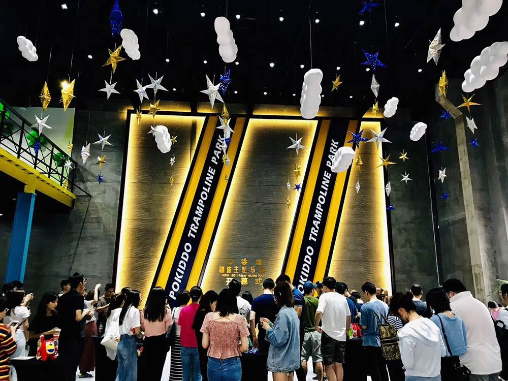 Pokiddo Trampoline Park Grand Opening Ceremony