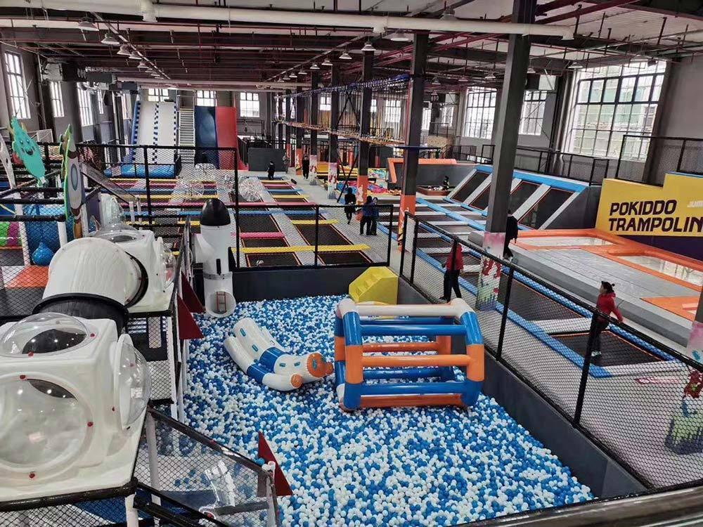 Changzhou Pokiddo trampoline park(1)