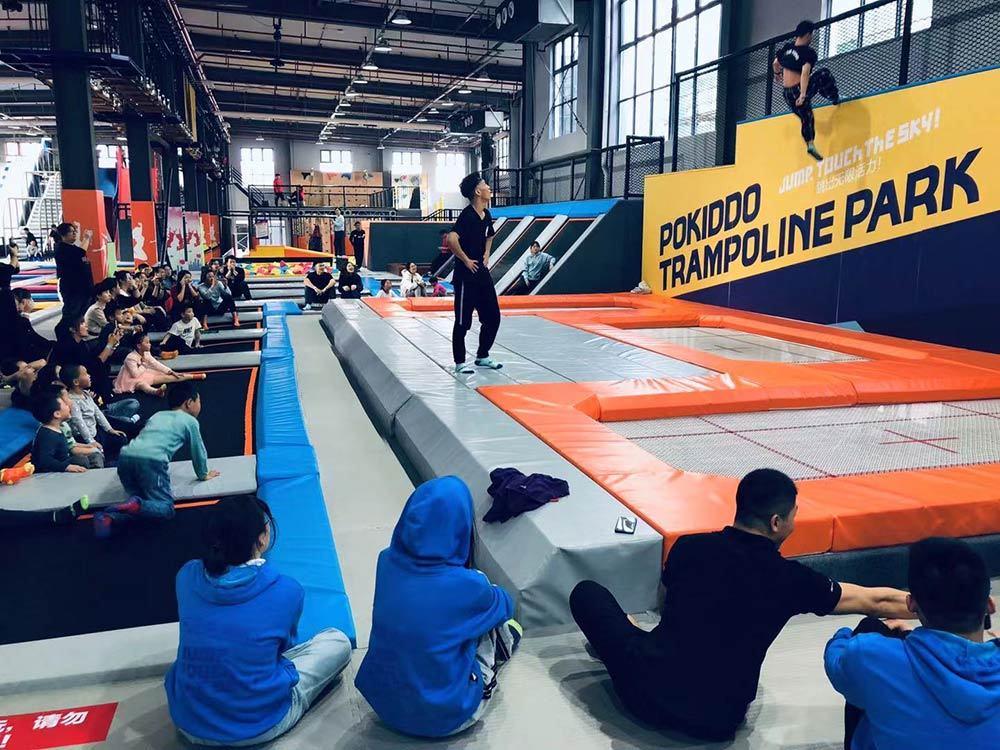 Changzhou Pokiddo trampoline park(3)