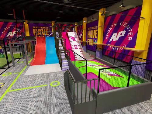 Pokiddo AP Sports Center Trampoline Park Design