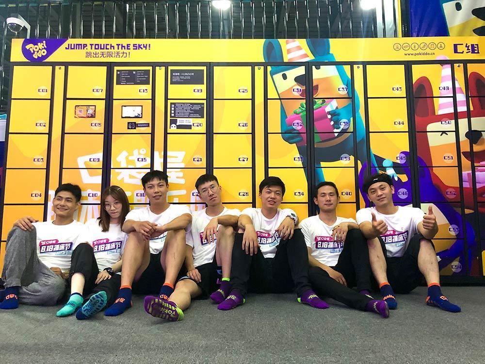 Pokiddo Trampoline Park Team Training