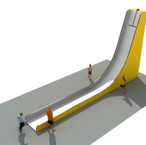 Vertical Drop Slide - Indoor Adventure Park Attraction