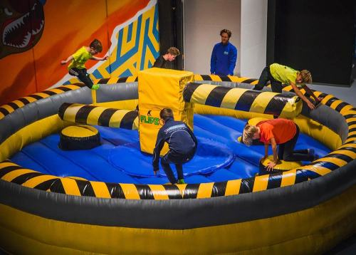 Inflatable Wipeout/Inflatable Meltdown