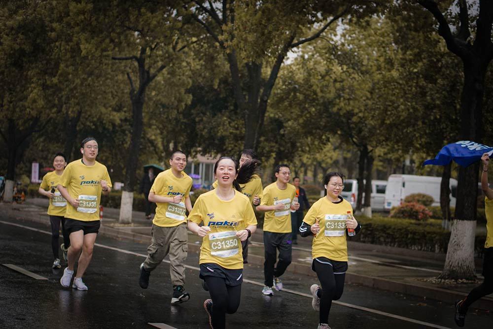 Pokiddo 'Running Man' Attended Wenzhou Marathon(3)