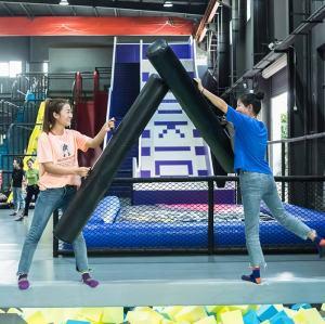 Battle Beam - Indoor Trampoline Park Attraction