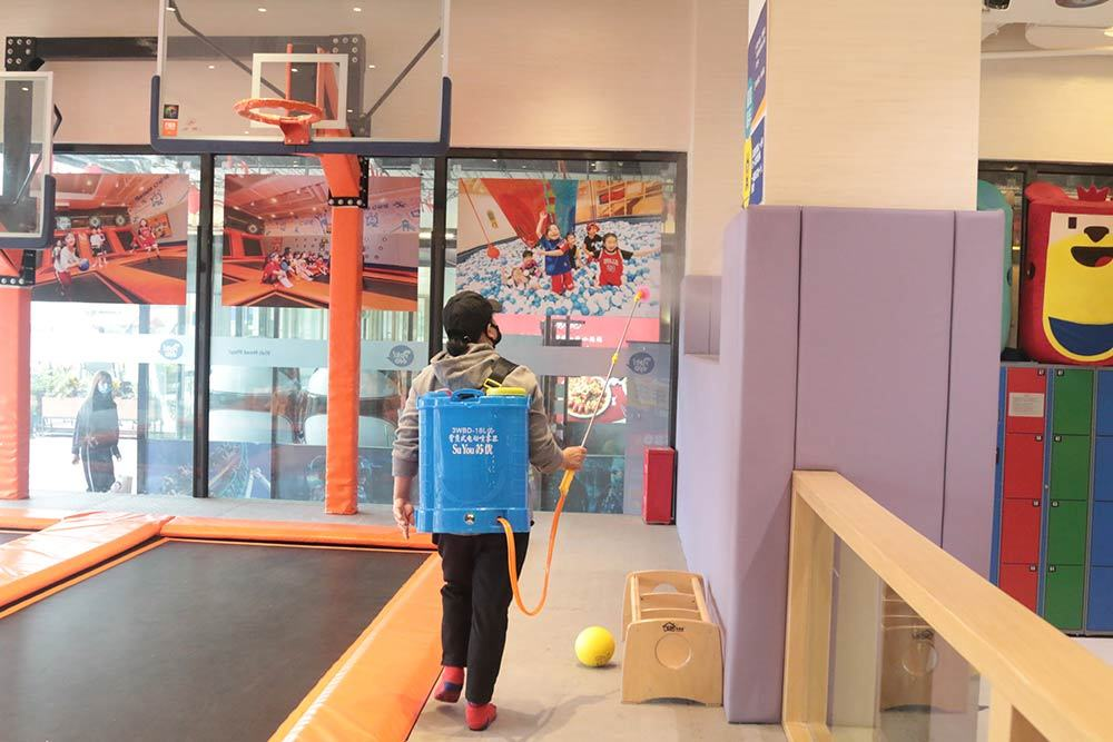 trampoline park reopening after covid-19 pandemic