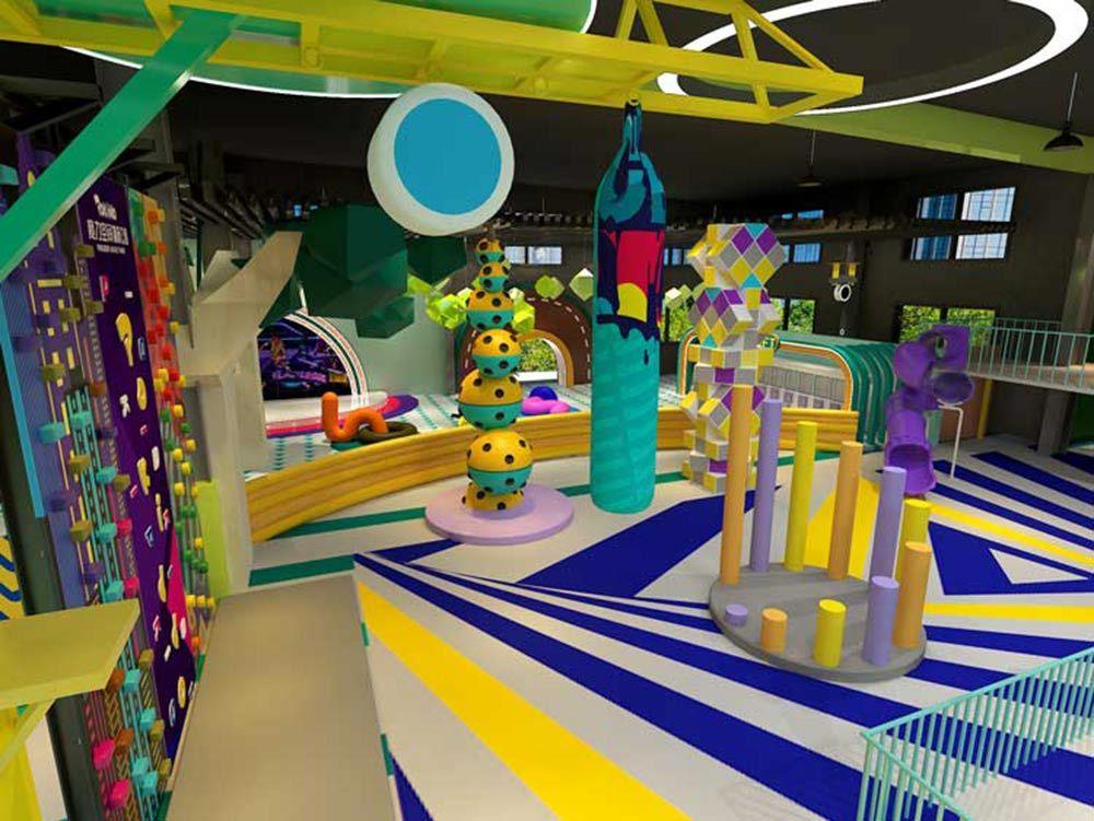 Pokiddo Amusement Park Design