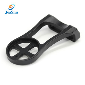 China supplier OEM black anodized aluminum cnc milling parts for bike lights
