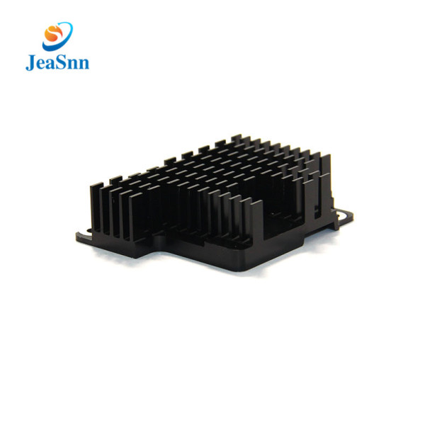 OEM Square Extruded Black Anodized Aluminum Pin Fin Heat Sinks for LED Lighting