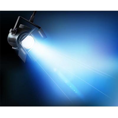 High quality aluminum 7075 cnc machining metal parts for spotlight