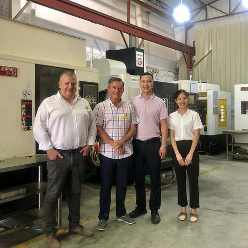 Swiss customers-Robert and Didier visited Jeasnn(Jiesheng) factory this week.