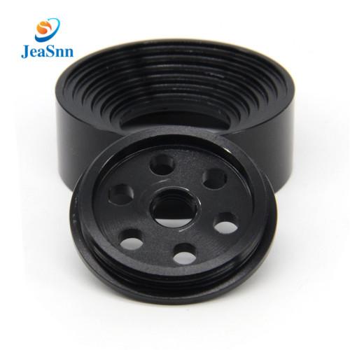 Wholesale black anodized aluminum cnc milling parts for stage light