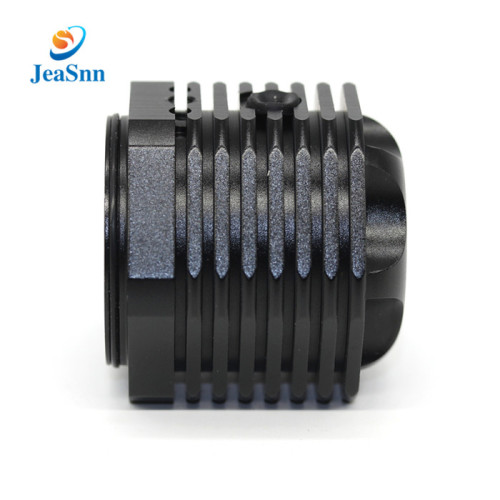 High Precision Black Anodized Aluminum CNC Machining Milling Parts For Bicycle Headlight