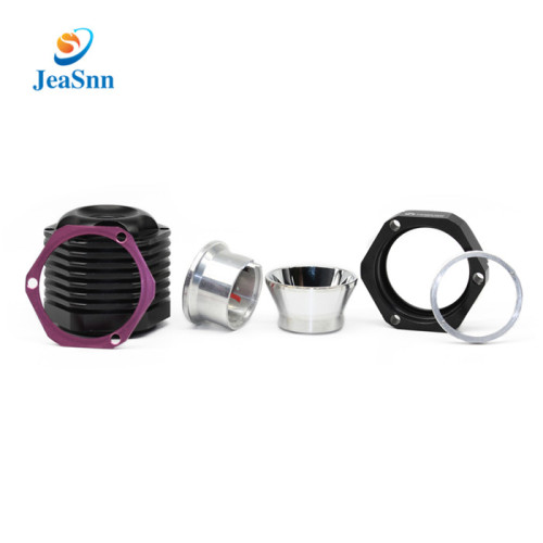 China Factory Wholesale Price Aluminum CNC Milling Turning Bicycle Headlight Accessories