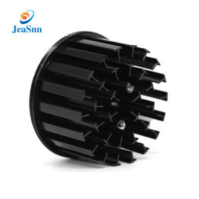 China Factory Wholesale Aluminum Black Anodized COB LED Down Light Heat Sink